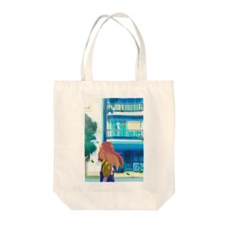 街中のヒーロー Tote Bag