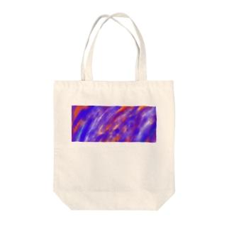 フレア Tote bags