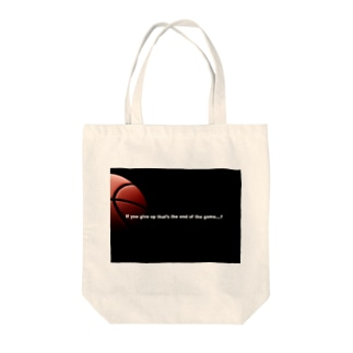 END GAME Tote bags