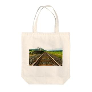 線路は続くよどこまでも Tote Bag