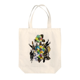 Flower.C.Works Tote bags