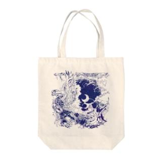 閑かな天使 Tote bags