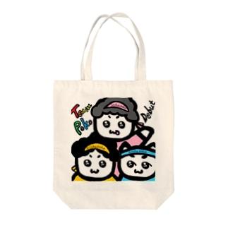 ちーむ☆ぽこ Tote bags