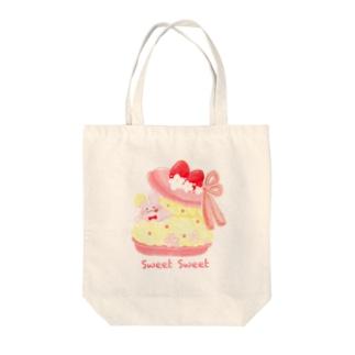sweet  macaron Tote bags