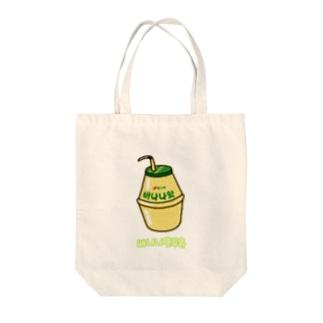 バナナウユ Tote bags