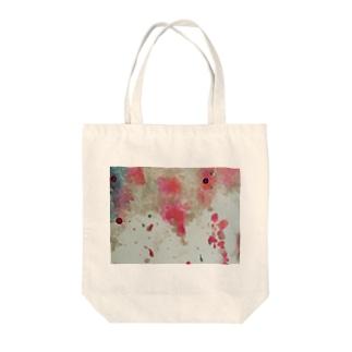 ラメラメ Tote bags