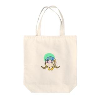 ふ〜せんがむ子 Tote bags