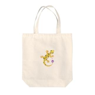 ヤモリのヤモちゃん Tote Bag