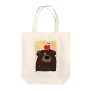りんごとぼく Tote bags