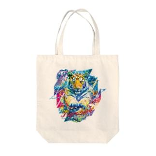 TigerShot Tote bags