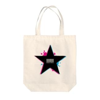 Star. Tote bags