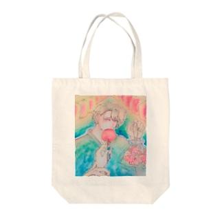 オリジナルイラストグッズ Tote bags