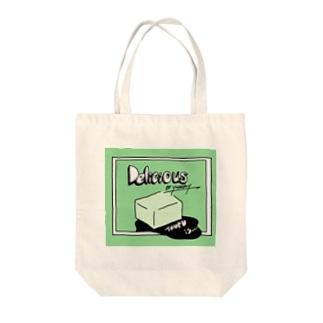とうふ Tote bags