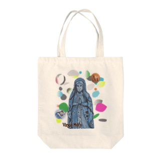 Virgin Mary Tote bags