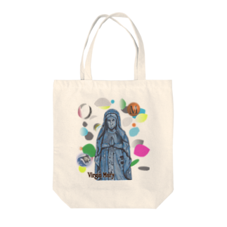 SO-yanのVirgin Mary Tote bags