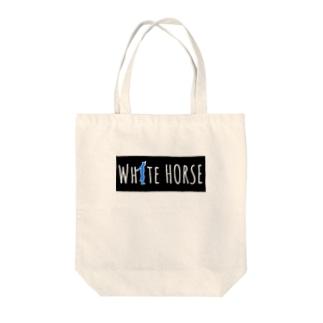 ダサいガッツポーズシリーズ(WHITE HORSE) Tote Bag