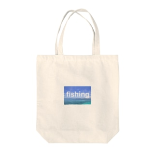 fishing Tote bags