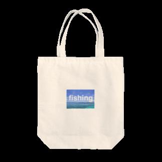 yu's shopのfishing Tote bags