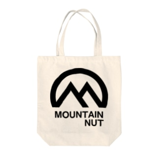 Mountain Nut Tote bags