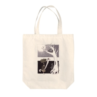 鳥かごさん Tote bags