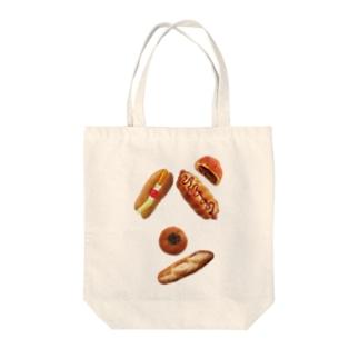 新デザインパンのパン文字 トートバッグ