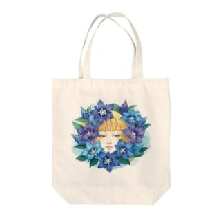 りんどう Tote bags