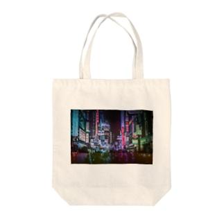 センター街 Tote bags