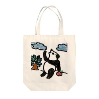 パンダちゃんの休日 Tote Bag