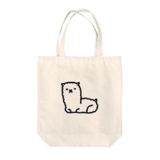 あるぱか Tote bags