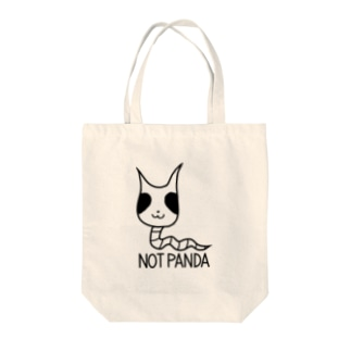 パンダじゃないです トートバッグ