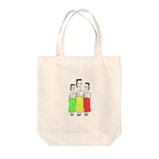 江戸前貴婦人 Tote bags
