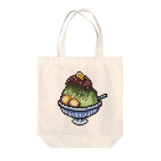 宇治金時のドット絵 Tote bags