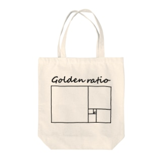 黄金比 Tote bags