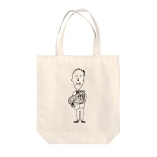 ノボルとりく Tote bags