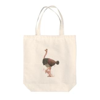 キング・オブ・ダチョウクラブ Tote bags