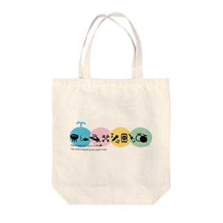 京橋かい Tote bags