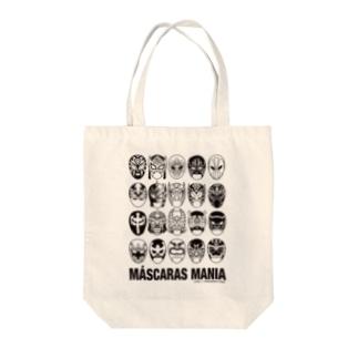 MASCARAS MANIA(黒プリント) Tote Bag