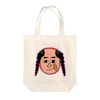 絆創膏おじさん Tote Bag
