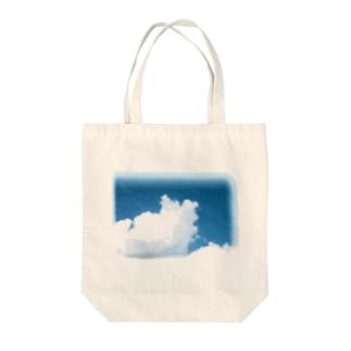 夏の空 Tote bags