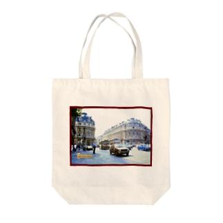 フランス:パリ9区の風景写真 France: view of Paris Tote Bag