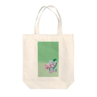 ライラック Tote bags