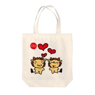 ハイサイ!シーサー(^^) Tote bags