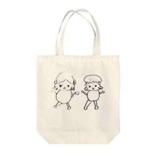 ゆるきゃら Tote bags