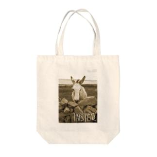 ロバ1-taisteal-タシテル- Tote bags