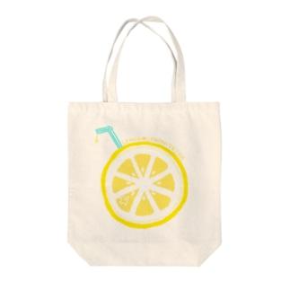 れもんジュースと熱帯魚 Tote bags