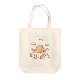 キャンプキャット Tote Bag