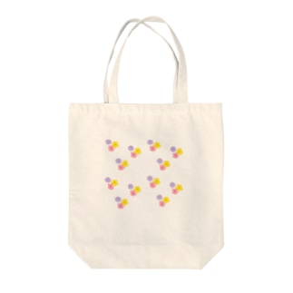 3色花柄 Tote bags