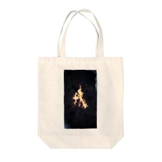 灯夜 Tote bags