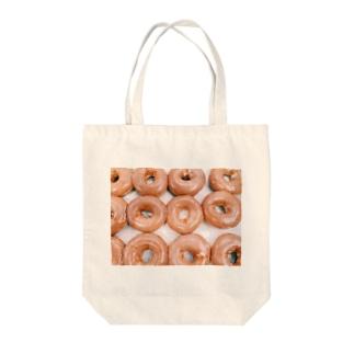 donuts plz Tote bags