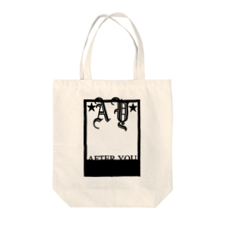 AFTER YOU Tote bags
